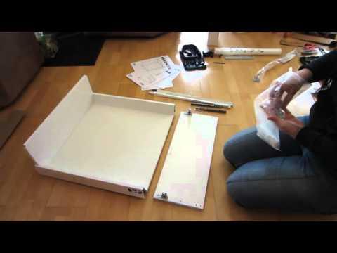 *Tutorial * IKEA Maximera groß 20 cm Küchenschublade zusammenbauen