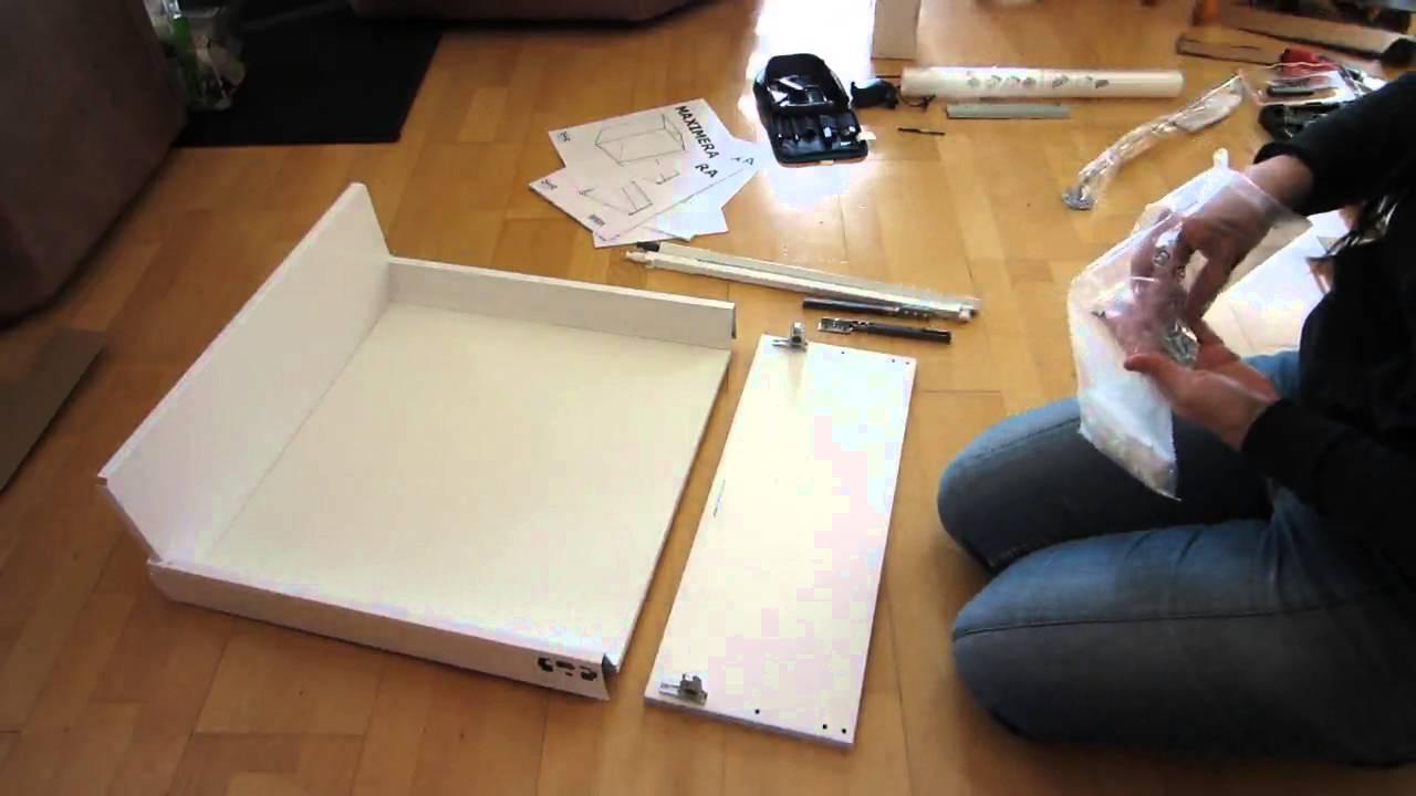Tutorial Ikea Maximera Gross 20 Cm Kuchenschublade Zusammenbauen