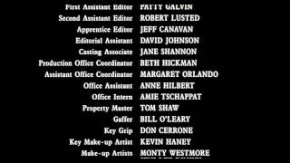 The Shawshank Redemption - Full End Titles End Credits Cast & Crew