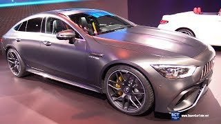2019 Mercedes AMG GT 63 S - Exterior and Interior Walkaround - 2018 New York Auto Show