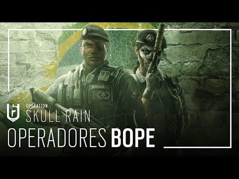 Rainbow Six Siege: Operação Skull Rain: Operadores BOPE