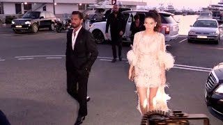 EXCLUSIVE: Kendall Jenner, Scott Disick, Kris Jenner attend a Chopard Dinner at The Baoli in Cannes