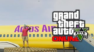GTA 5 Online: Hidden Airport Terminal & Bunker (GTA V)