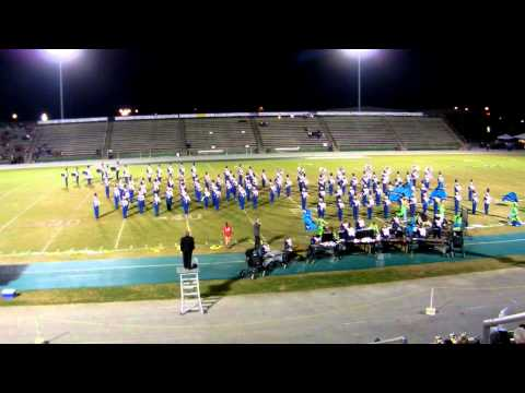 Warren Central High School Band - Emerald Coast Marching Classic 10/20/12