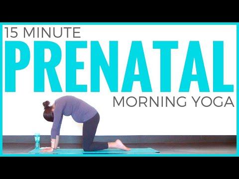 Prenatal Morning Yoga Routine | Sarah Beth Yoga