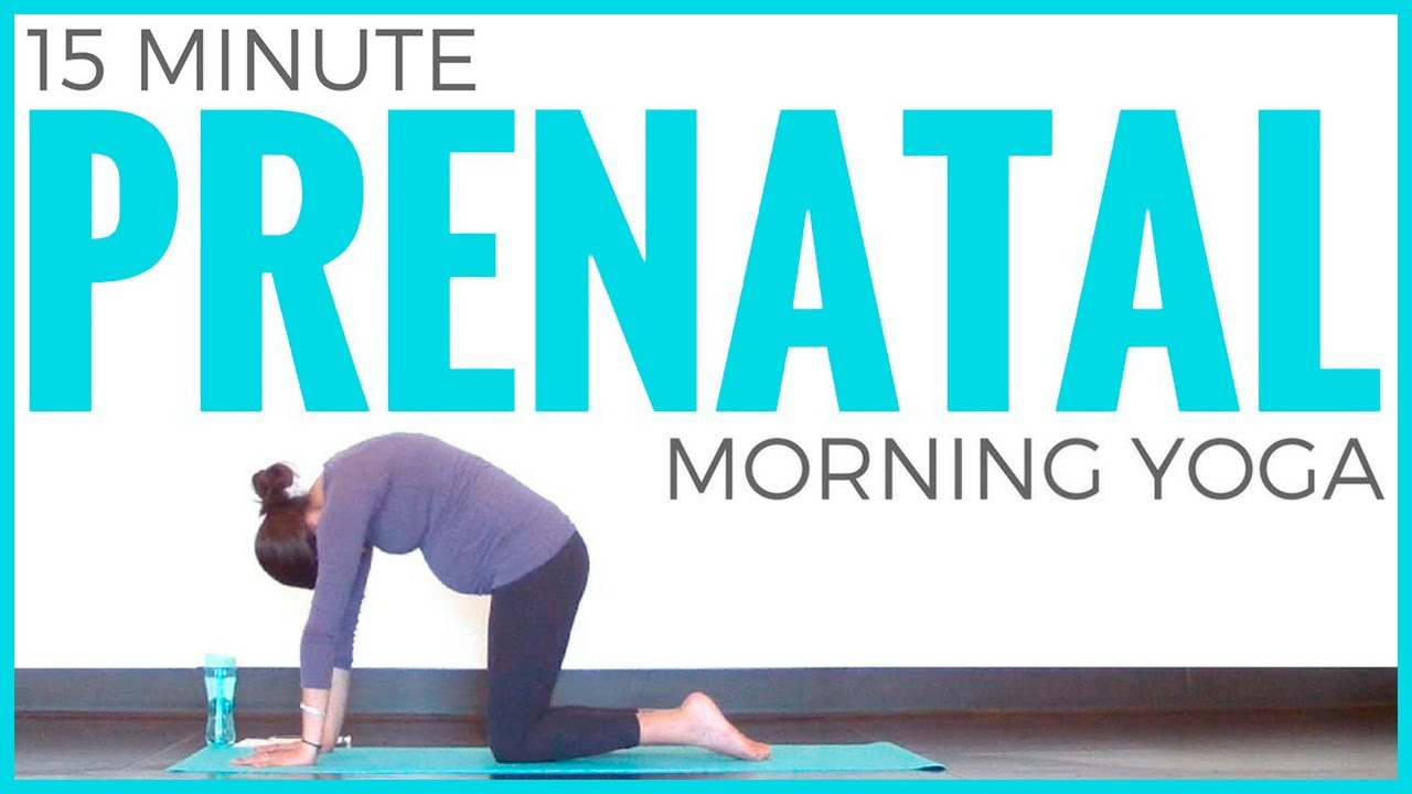 Prenatal Morning Yoga Routine - YouTube