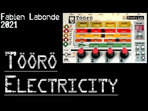 SYNTH DEMO #24 Töörö [Fred's Lab] - Electricity OMD Cover 2021