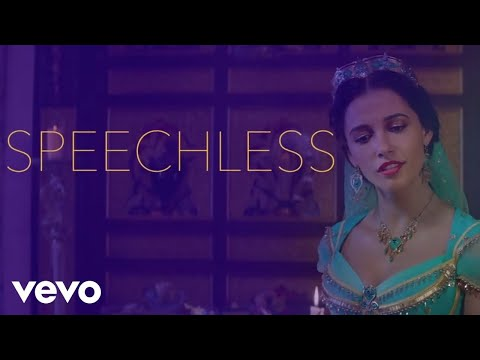 Naomi Scott - Speechless (From Aladdin/Official Lyric Video)
