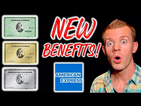 *NEW BENEFITS!* Amex Platinum Card, Amex Gold Card And Amex Green Card