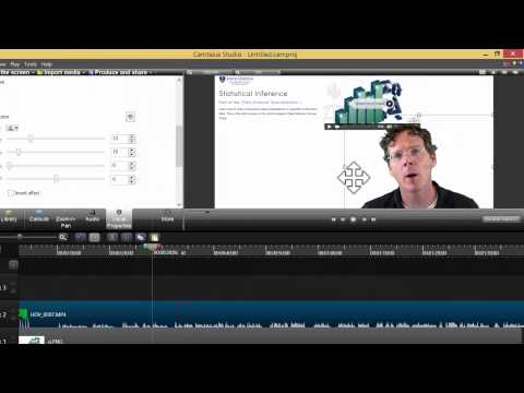 how to change screen color on camtasia