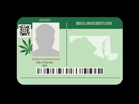 How to get your medical cannabis card in Maryland. - YouTube