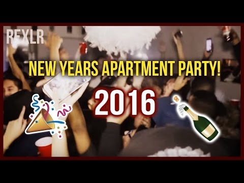 New Years Apartment Party 2016!