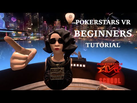 NEW Pokerstars VR Tutorial - How To Play In 2020