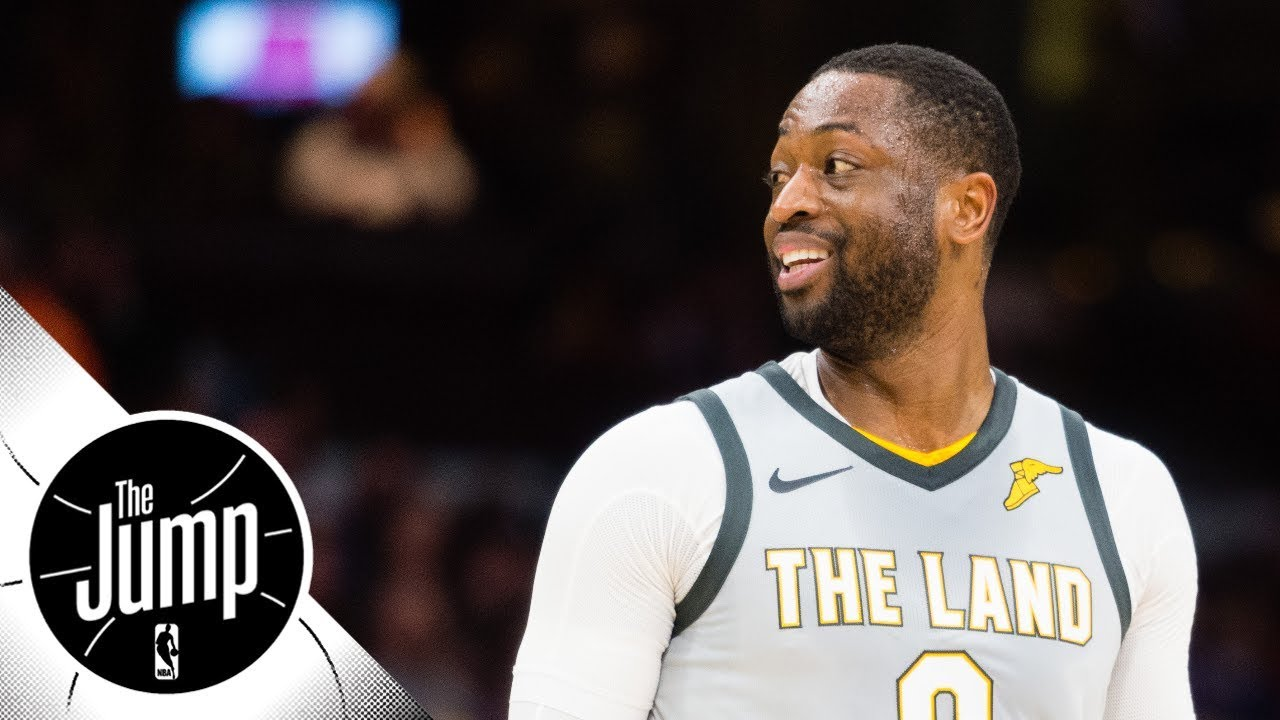 8aa2270ae79 Dwyane Wade traded to Heat from Cavaliers   The Jump   ESPN - YouTube