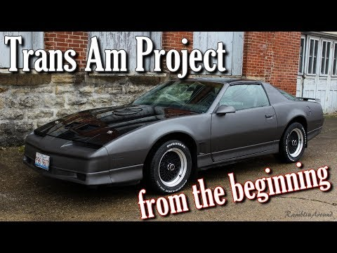 Trans Am Project - From the Beginning
