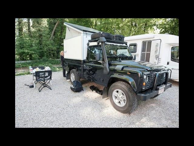 Camper zelfbouw treffen samenkomst in Wodecq