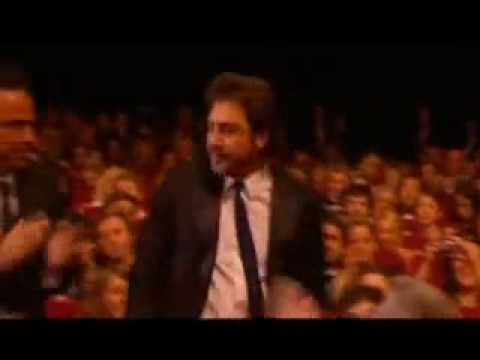 Javier Bardem declares his love to Penelope Cruz in Cannes (subtitles in English)
