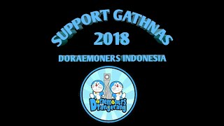 Support Gathnas Doraemoners indonesia regional Tanggerang (meet and greet dubber doraemon DKK)