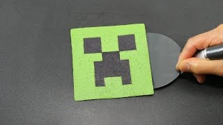 Repeat youtube video Pancake Art - Minecraft Creeper by Tiger Tomato