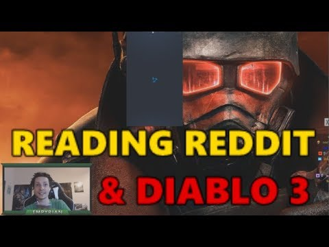 [Memes] Reading Reddit responses to the Tencent video & playing Hardcore Diablo 3