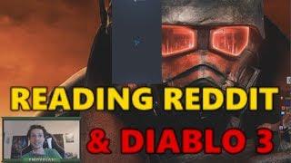 [Memes] Reading Reddit responses to the Tencent video & playing Hardcore Diablo 3 thumbnail