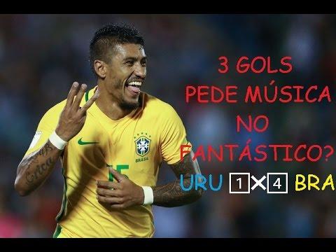 Uruguai 1 X 4 Brasil ⚫NARRAÇÃO NILSON CÉSAR - RÁDIO JOVEM PAN⚫