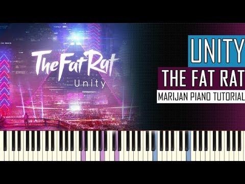 How To Play: TheFatRat - Unity | Piano Tutorial