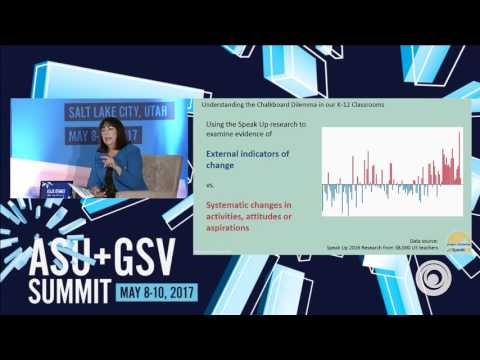 ASU GSV Summit: Research on Teachers' Readiness and Willingness to Adopt Digital Tools for Learning