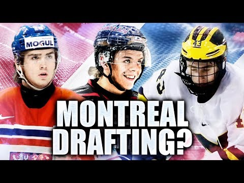 Who Will The Montreal Canadiens Draft In The 2018 NHL Entry Draft? Zadina, Kotkaniemi, Hughes?