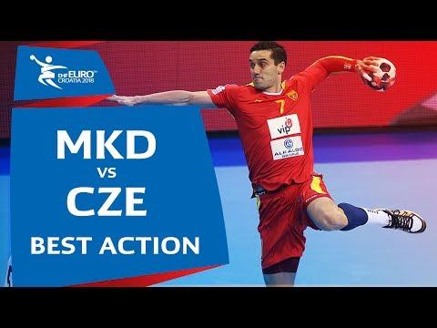 Kiril Lazarov, the Macedonian goal machine | Men's EHF EURO 2018