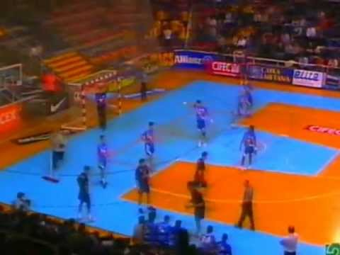 F.C. Barcelona - Portland San Antonio - Liga Asobal 04-05 - 1ª Parte