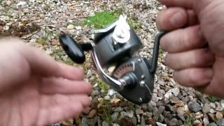 karmann no 41 daiwa japan fixed spool fishing reel