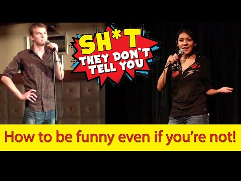 How to be funny even if you're not!  ft. LESLY WOLFF (standup comedy coach)  | STDTY #67
