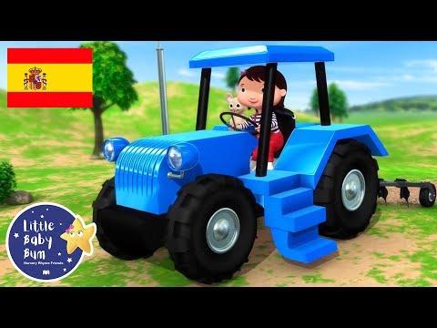 Canciones Infantiles   La Canción del Tractor   P. 2   Dibujos Animados   Little Baby Bum en Español