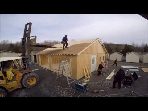 Bayhorse Garage Raising Episode 2 HD