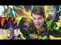 Hearthstone  Smashing with Larger and Larger Men