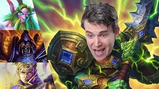 (Hearthstone) Smashing with Larger and Larger Men