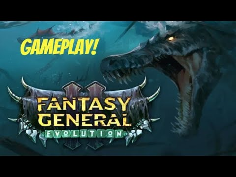 Fantasy General II Evolution - Gameplay with Visual [PC] 1080P 60FPS [5700XT + R5 3600] |