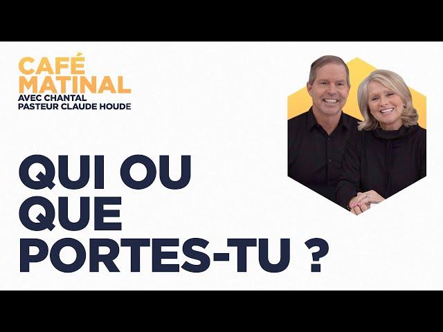 14 avril 2021 | Qui ou que portes-tu? | Chantal Houde
