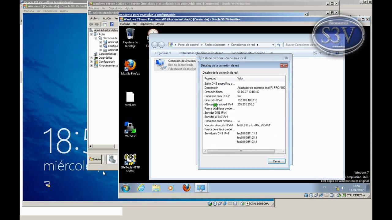 Windows Server 2008 r2 - Trabajando con Terminal Server - YouTube
