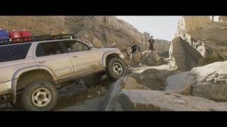 Toyota 4Runner January run offroading in the Anza Borrego State Par...