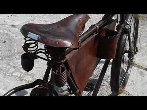 Sepeda ontel kuno merk SIMPLEX