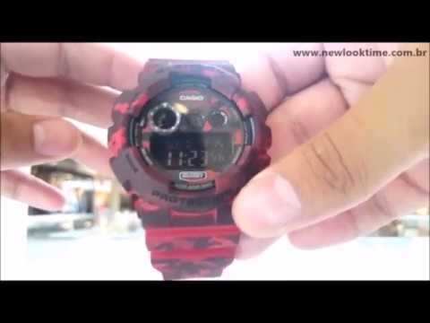 e222db44764 Relógio G-SHOCK Camuflado GD-120CM-4DR - New Look Time Relógios ...