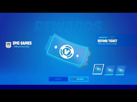 HOW TO GET MORE REFUND TOKENS IN FORTNITE CHAPTER 2! FORTNITE REFUND TOKENS TICKETS SYSTEM