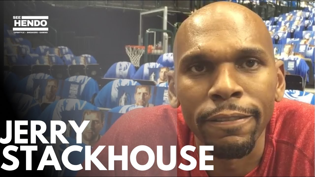 JERRY STACKHOUSE INTERVIEW