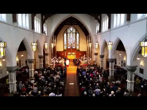 Hallelujah Chorus - Handel - Christ Church Cathedral Choir - Ottawa