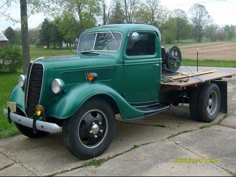 1937 Ford Truck Walk-around Tour For EBay Auction