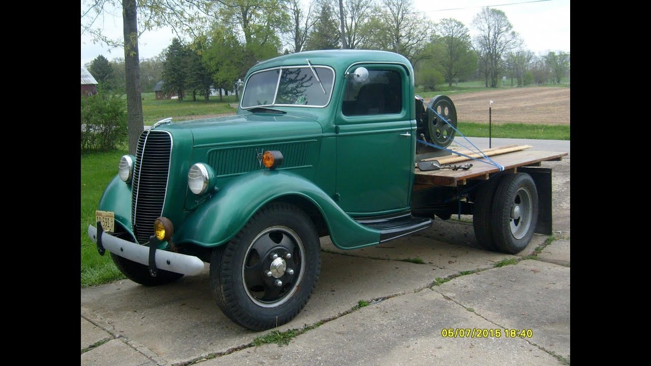 1937 Ford Truck Walk Around Tour For Ebay Auction Youtube