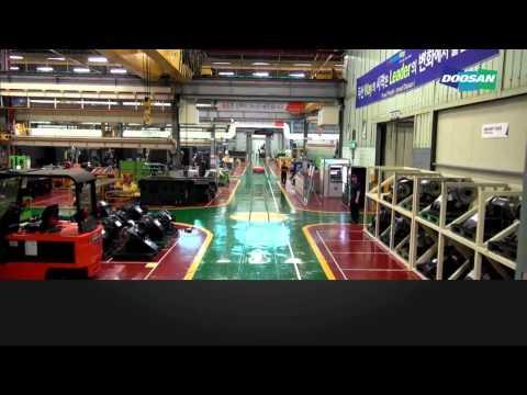 2015 Doosan Infracore Machine Tools Factory Tour
