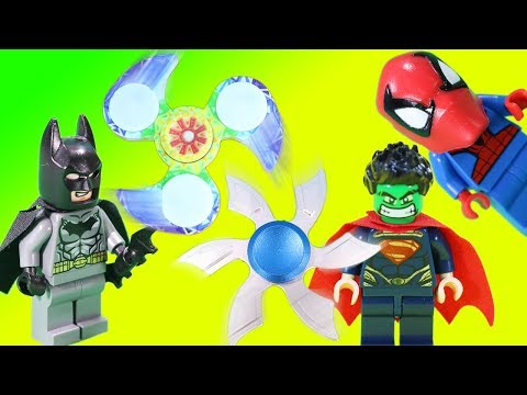 Fidget Spinner Super Hero Marvel DC Mashup Batman Super Spider-man & More